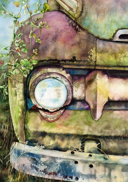 Painting - Abandoned by Diane Fujimoto