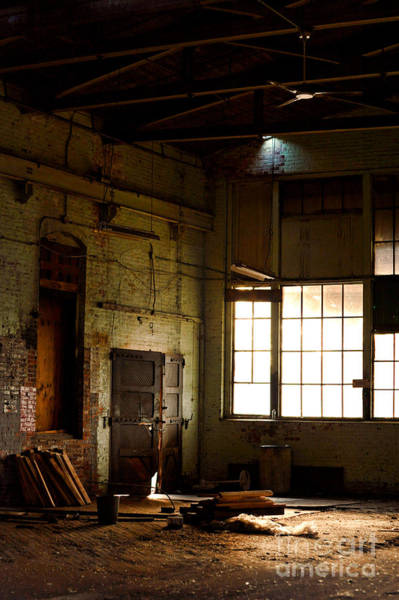 Warehouse Photograph - Abandoned Factory by HD Connelly