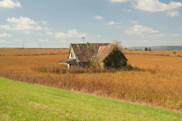 Sentimentality Photograph - Abandoned Farmhouse In Field 2 by Douglas Barnett