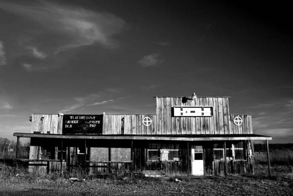Wall Art - Photograph - Abandoned Gas Station by Cale Best