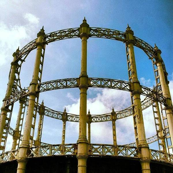 Norfolk Photograph - Abandoned Gas Works #abandoned #factory by Invisible Man