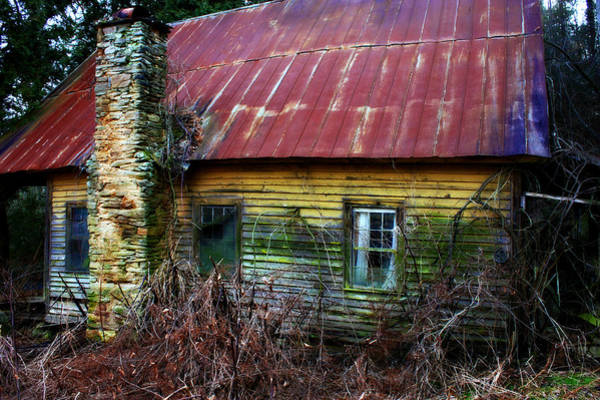 Photograph - Abandoned Home by Sheila Kay McIntyre