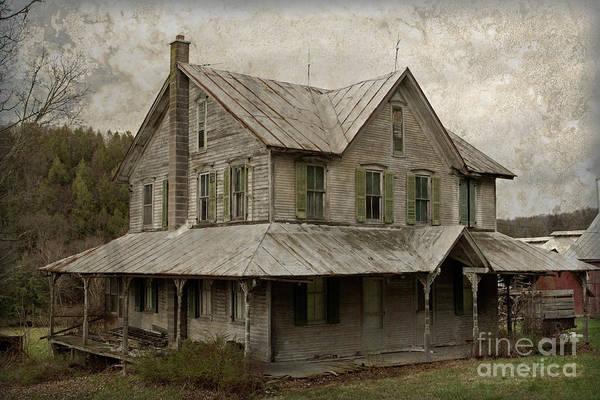 Farmstead Photograph - Abandoned Homestead by John Stephens