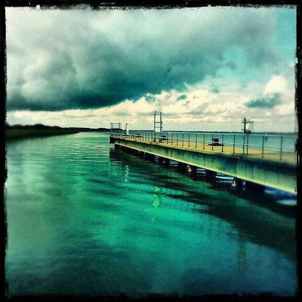 Norfolk Photograph - Abandoned Jetty #river #broads #water by Invisible Man