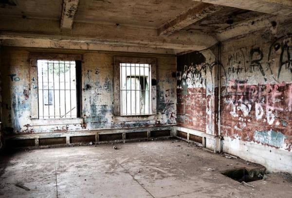 Photograph - Abandoned Room by Matt Hanson