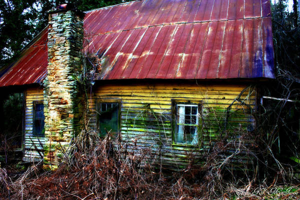 Photograph - Abandoned by Sheila Kay McIntyre