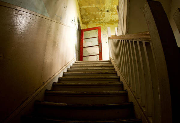Wall Art - Photograph - Abandoned Staircase by Cale Best