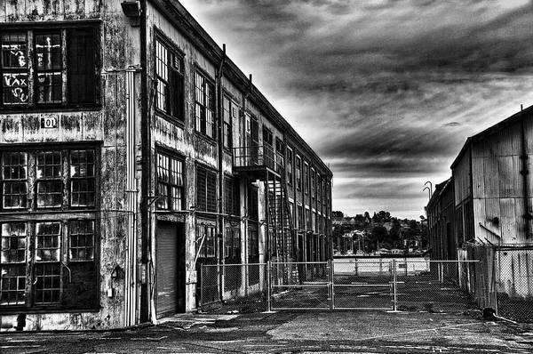 Wall Art - Photograph - Abandoned Warehouse by James Menke