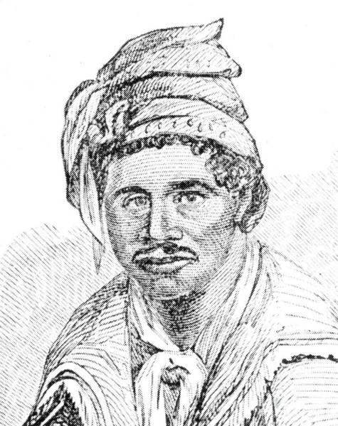 Muskogee Photograph - Abraham (c1790-?) by Granger