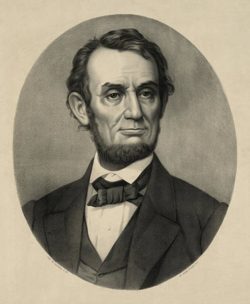Wall Art - Photograph - Abraham Lincoln Portrait by International  Images