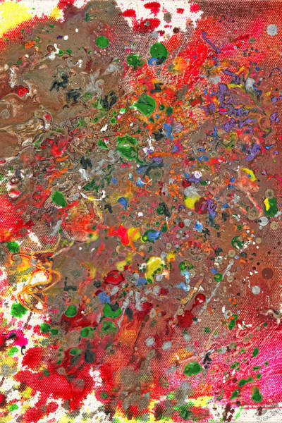 Photograph - Abstract - Crayon - Montazuma's Revenge by Mike Savad