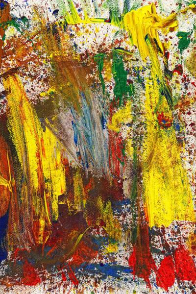Photograph - Abstract - Guash - Morning Joy by Mike Savad