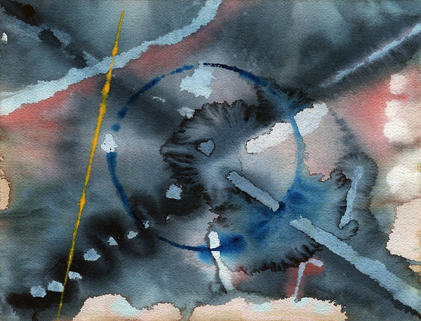 Painting - Abstract 1 by David Kleinsasser