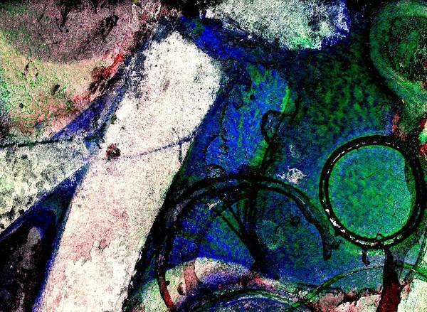 Irish Mixed Media - Abstract 56 by John  Nolan
