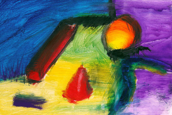 Painting - Abstract - Acrylic - Primitives by Mike Savad