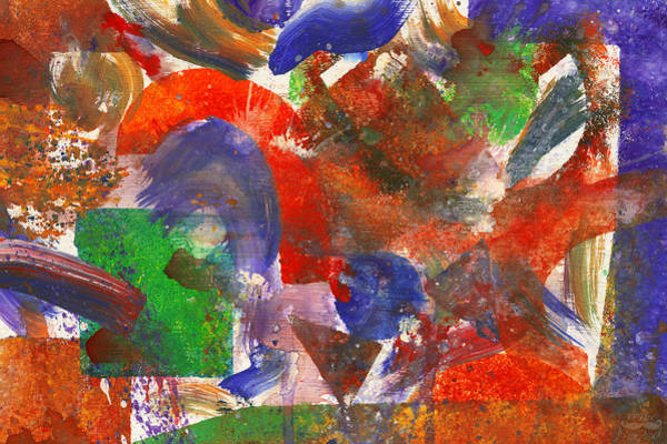 Photograph - Abstract - Acrylic - Synthesis by Mike Savad
