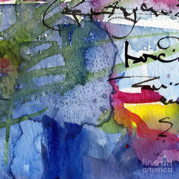 Painting - Abstract Alge And Sea Modern Square  by Ginette Callaway