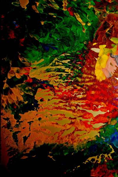 Abstract Colors Art Print by Gloria Warren