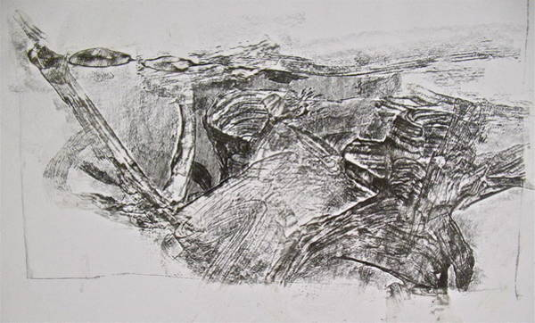 Painting - Abstract Expressionist Experimental Sketch 4  by Cliff Spohn