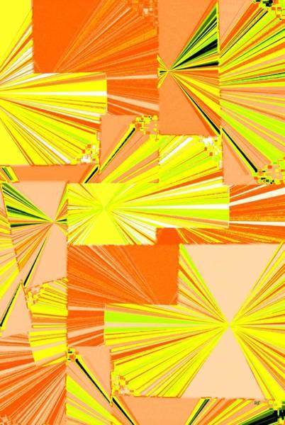 Borden Digital Art - Abstract Fusion 14 by Will Borden