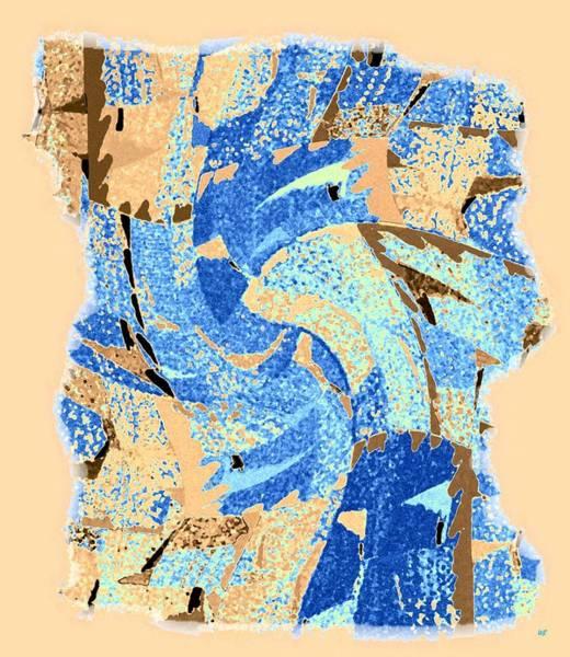 Borden Digital Art - Abstract Fusion 32 by Will Borden