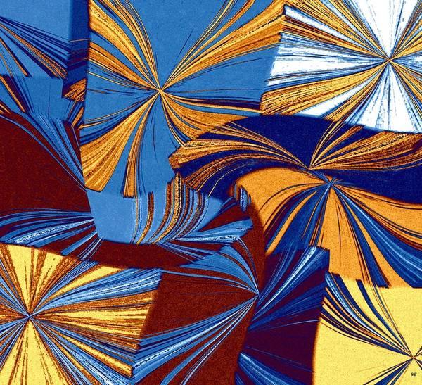 Borden Digital Art - Abstract Fusion 34 by Will Borden