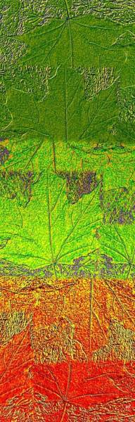Borden Digital Art - Abstract Fusion 38 by Will Borden