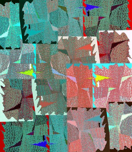 Borden Digital Art - Abstract Fusion 39 by Will Borden