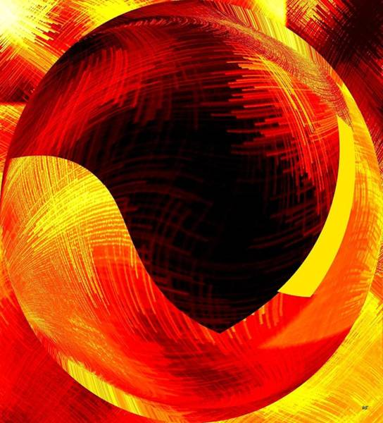 Amalgamation Digital Art - Abstract Fusion 40 by Will Borden