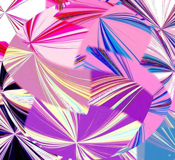 Borden Digital Art - Abstract Fusion 41 by Will Borden