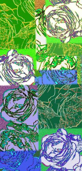 Borden Digital Art - Abstract Fusion 42 by Will Borden
