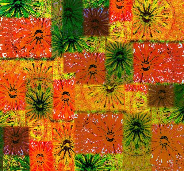 Borden Digital Art - Abstract Fusion 5 by Will Borden