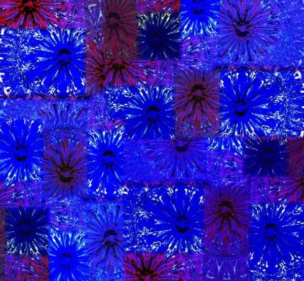 Borden Digital Art - Abstract Fusion 6 by Will Borden