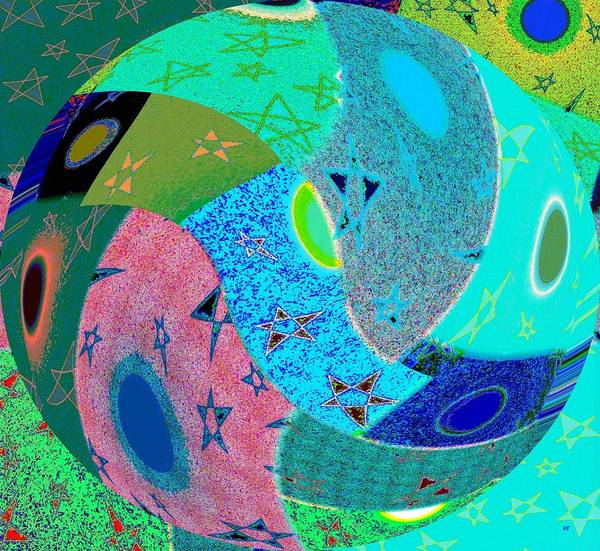Digital Art - Abstract Fusion 80 by Will Borden