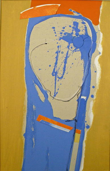 Painting - Abstract Kopf  by Cliff Spohn