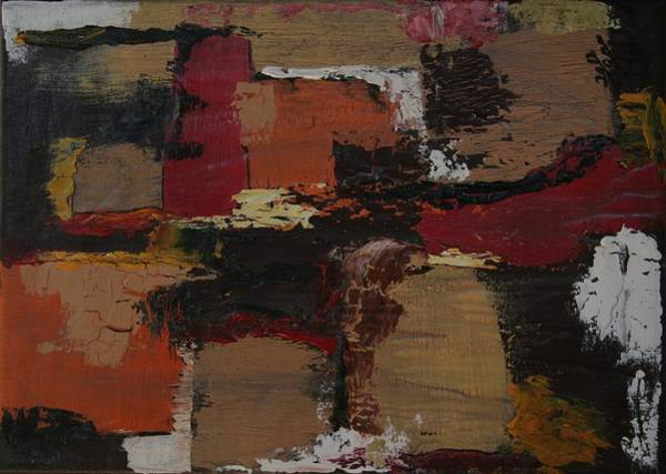 James Johnson Painting - Abstract Number 51 by James Johnson