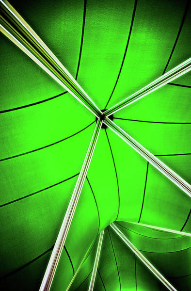 Photograph - Abstract Of Green by Meirion Matthias