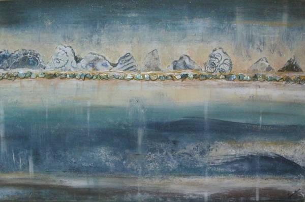 Abstract Scottish Landscape Art Print