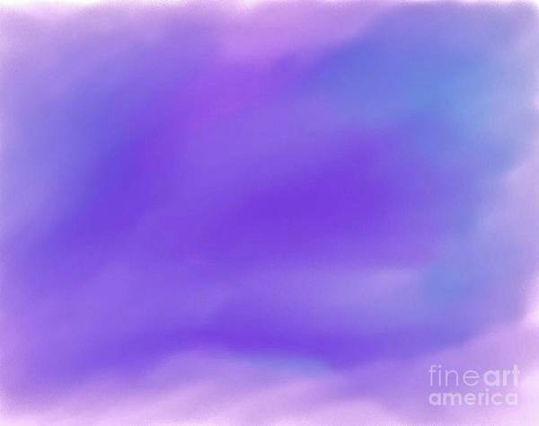 Blending Painting - Abstract Sky by Marsha Heiken