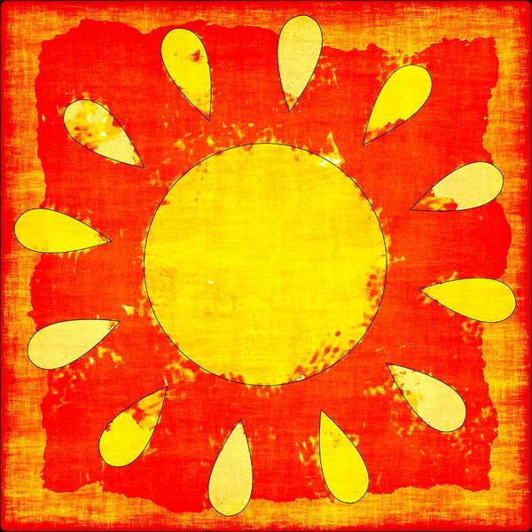 Wall Art - Photograph - Abstract Sun by David G Paul