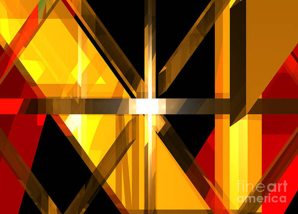 Digital Art - Abstract Tan 3 by Russell Kightley