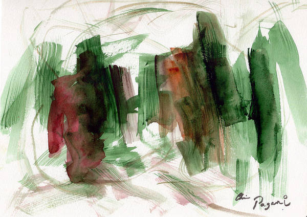 Painting - Abstract Watercolor 51 by Chriss Pagani