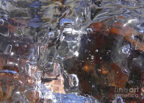 Photograph - Abstract Waterfall B by Sami Tiainen