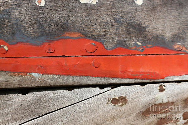 Photograph - Abstract With Red by Todd Blanchard