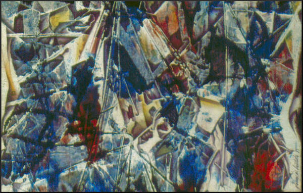 Painting - Abstraction1 1985 by Glenn Bautista