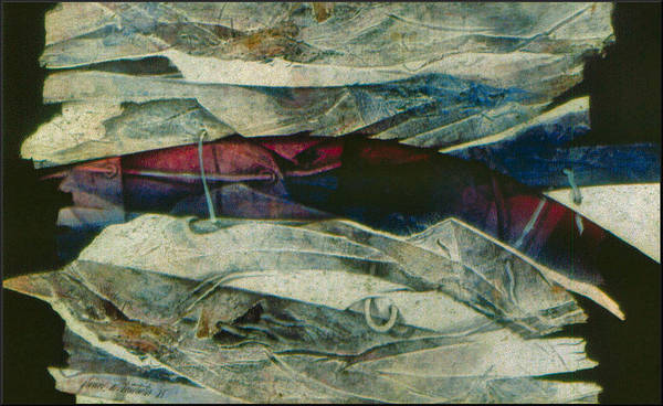 Painting - Abstraction2 1985 by Glenn Bautista
