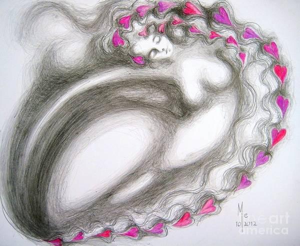 Drawing - Abundance by Marat Essex