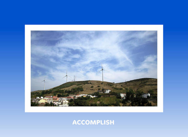 Photograph - Accomplish Motivational by John Shiron