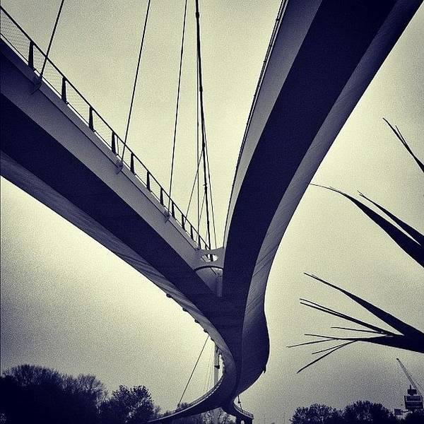 Artwork Wall Art - Photograph - Across. Have A Good Sunday! #bridge by Robbert Ter Weijden