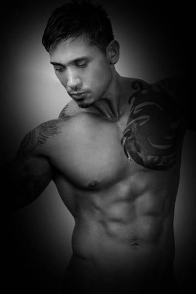 Erotism Photograph - Adam 2 by Mark Ashkenazi